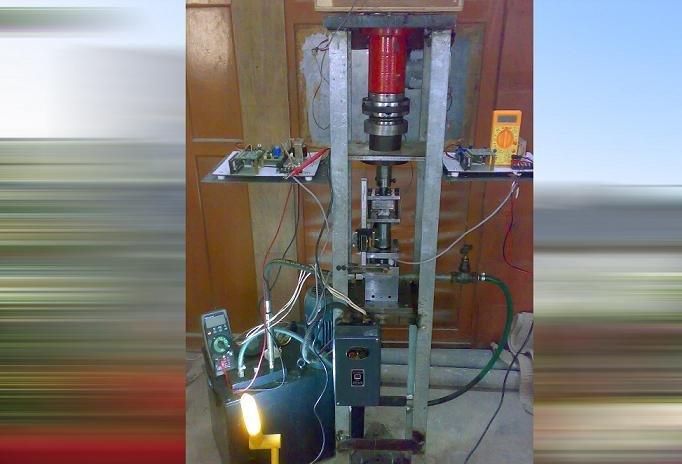 ساخت دستگاه هیدروفرمینگ ورقی با قابلیت تولید قطعات فنجانی در کشور