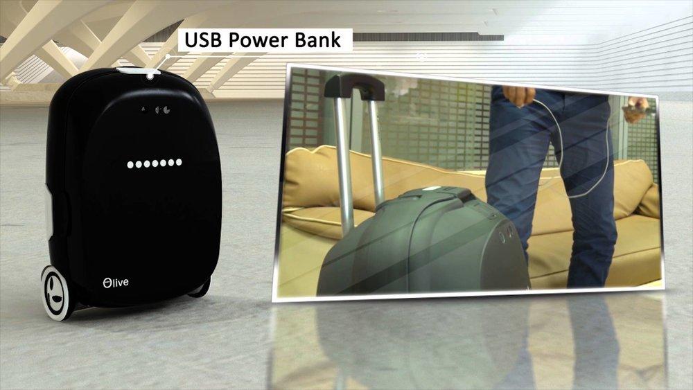 چمدان هوشمند مهندسان ایرانی به صاحبش سواری هم میدهد!