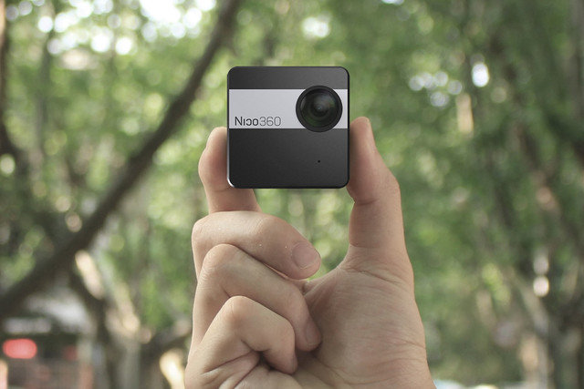 کوچکترین دوربین ۳۶۰ درجه جهان