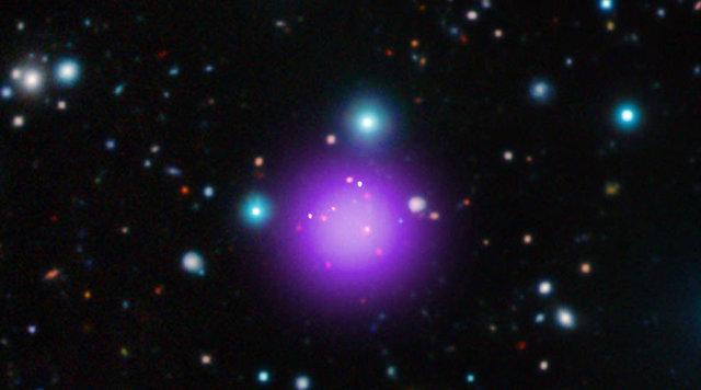 کشف خوشه کهکشانی رکوردشکن در دوری از زمین