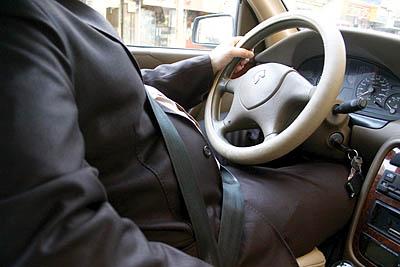 افزایش اضافه وزن با رانندگی بیش از یک ساعت در روز