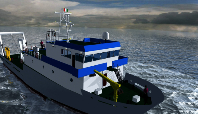 نخستین اقیانوسپیمای تحقیقاتی ایران تا ۲۰ روز دیگر به بهرهبرداری می رسد