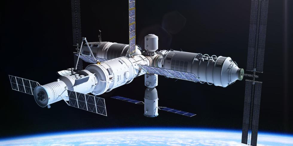 ایستگاه فضایی چین به زمین میخورد