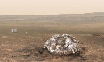 کاوشگر اروپایی Schiaparelli آماده فرود بر سیاره سرخ