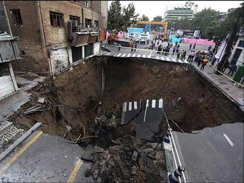 برنامه جامع کاهش آسیبهای فرونشست در تهران تهیه شد