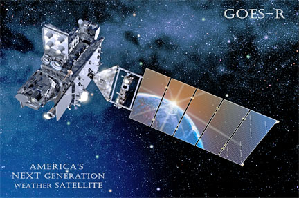 نسل جدید ماهواره های هواشناسی GOES-R