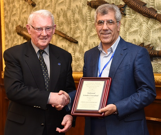 استاد ایرانی، برنده جایزه انجمن بینالمللی تخصصی برق قدرت شد
