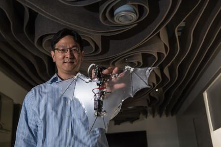 رباتی که مانند خفاش پرواز میکند