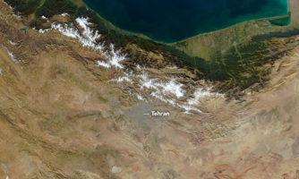 ایران از فضا