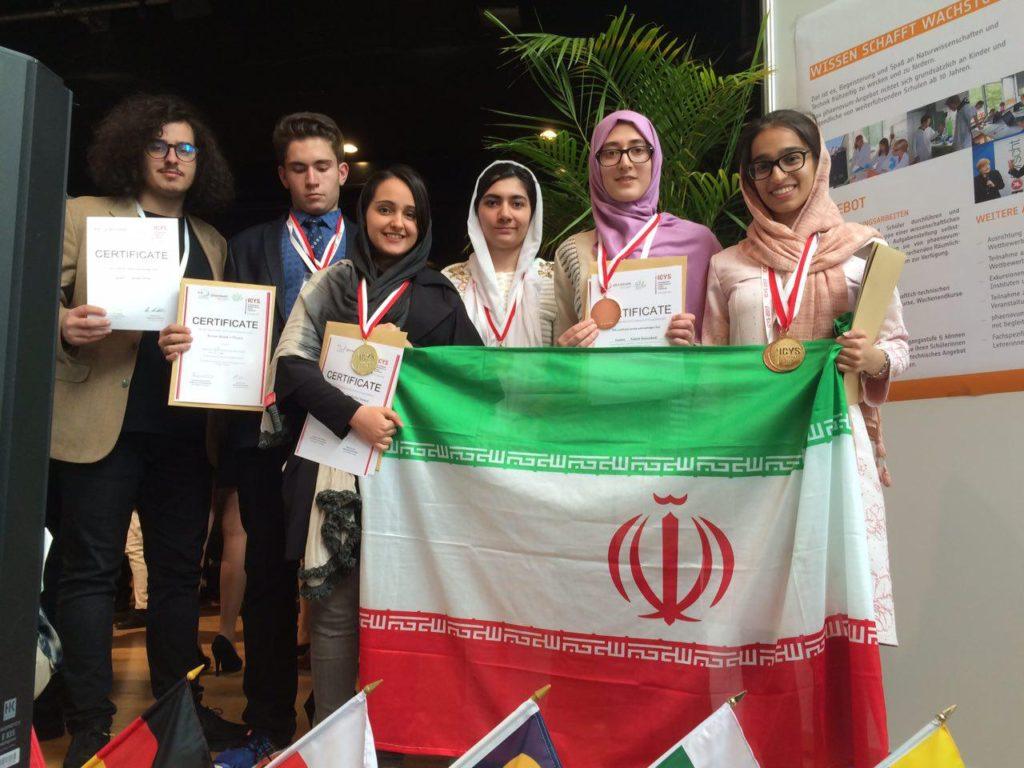 هفت مدال، رهاورد دانش آموزان ایرانی از مسابقات دانشمندان جوان ۲۰۱۷