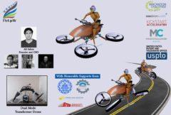 """ساخت نخستین """"موتورسیکلت پرنده"""" توسط دانشجویان ایرانی"""