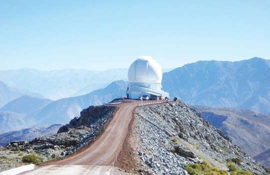 استقبال رصدخانه ملی از استقرار تلسکوپها و ابزار رصدی در سایت رصدخانه