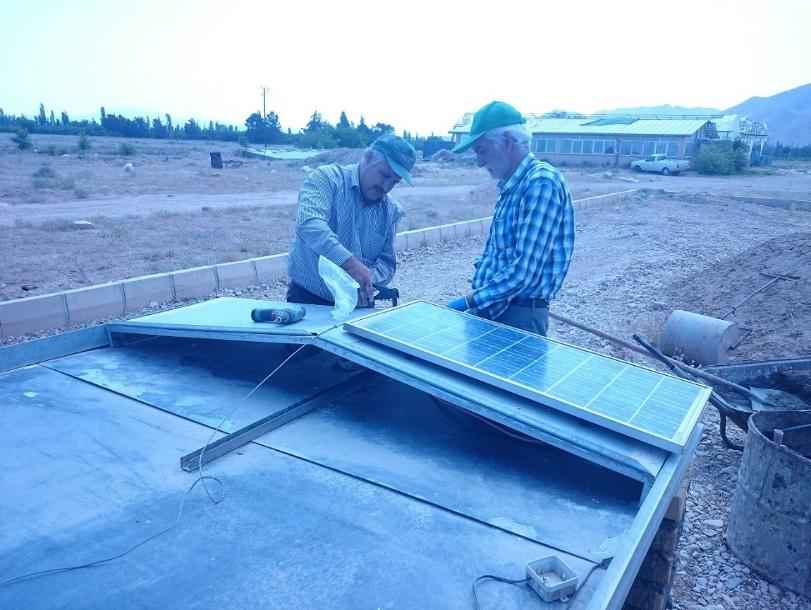 ساخت یک خشککن خورشیدی توسط پژوهشگران کشور