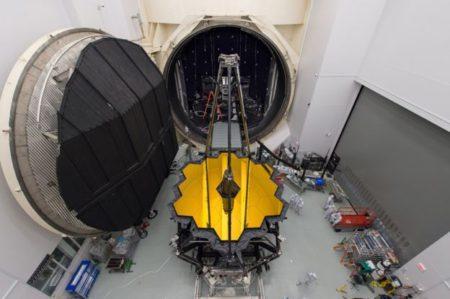 آزمایش های نهایی بر بزرگترین تلسکوپ فضایی جهان