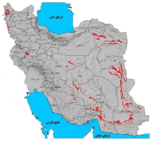 پتانسیلیابی کرومیت در ایران آغاز شد