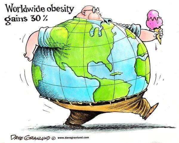 فاجعه کمتحرکی(۲): عوارض چاقی و اضافه وزن ۳۰ درصد جهان را گرفتار کرد/ مصر و آمریکا رکورددار شیوع چاقی شدند