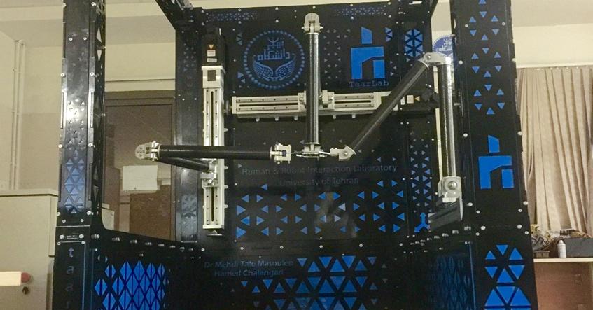 ساخت نخستین ربات صنعتی ایرانی با سه درجه آزادی مستقل