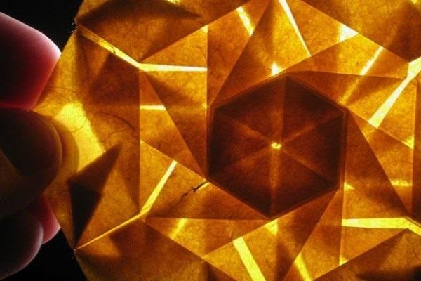 استفاده از اوریگامی در طراحی فضاپیماهای ناسا