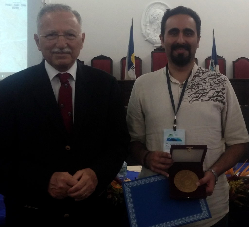 پژوهشگر ایرانی، برنده جایزه انجمن بینالمللی تاریخ و فلسغه علم اروپا شد
