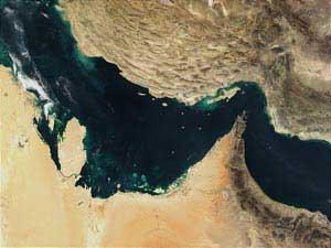 نقشه زمینشناسی و گسل های کف بستر سراسر خلیج فارس تهیه شد