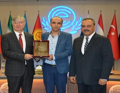 شیمیدان ایرانی، برنده جایزه علم و فناوری کشورهای عضو اکو شد