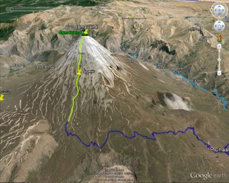تهیه نقشه زمینشناسی قله دماوند آغاز شد