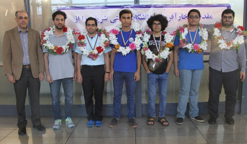 درخشش دانشجویان دانشگاه صنعتی شریف در مسابقات جهانی ریاضی