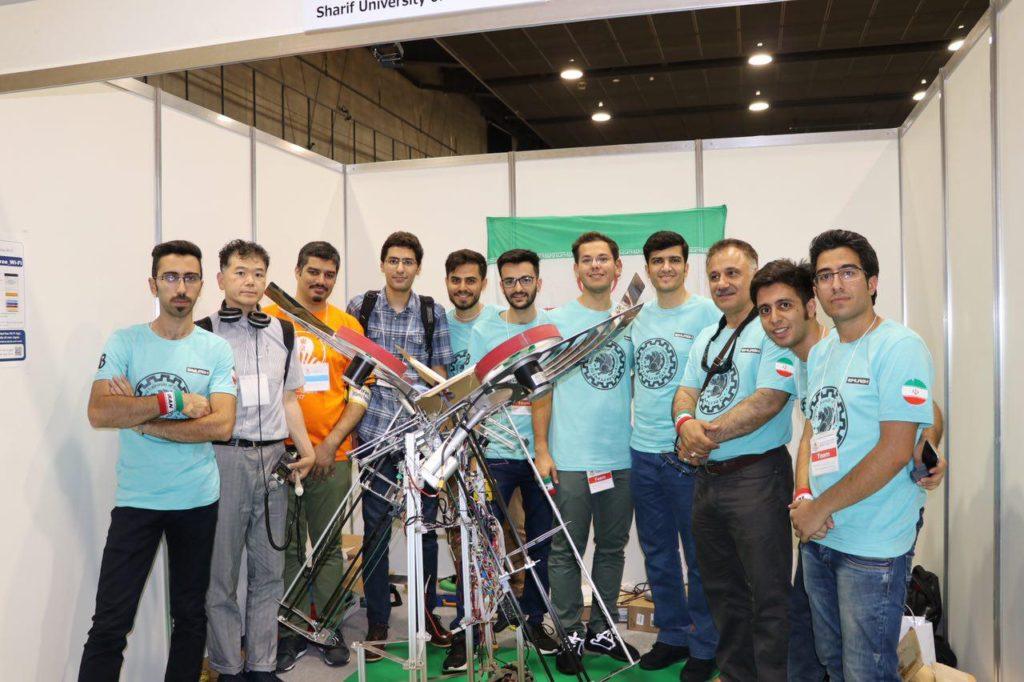 ربات «سیمرغ»، نماینده ایران در مسابقات رباتیک پرتاب دیسک!