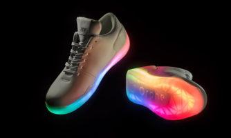 کفش هوشمندی که با دریافت ایمیل روشن میشود!