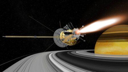 بدرود «کاسینی»!/ عصر جمعه صورت گرفت: شیرجه مرگبار فضاپیمای ناسا در جو زحل در پایان ماموریت ۲۰ ساله