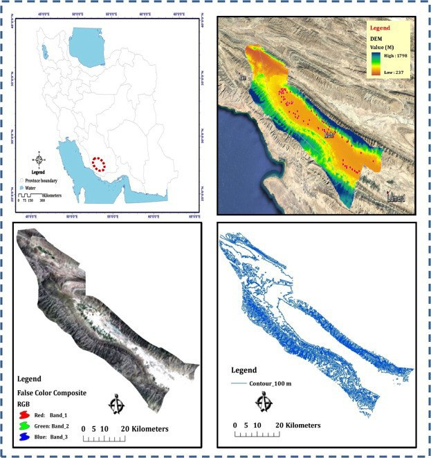 ساخت نرمافزار مدلسازی و تخمین جرم مخصوص ظاهری خاک در کشور