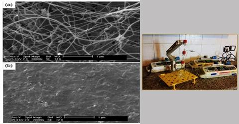 ساخت نانوبیورآکتور برای مطالعه تجربی سیستم بیولوژی در دانشگاه تهران