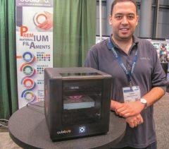 ساخت کوچکترین چاپگر سه بعدی جهان توسط محقق ایرانی