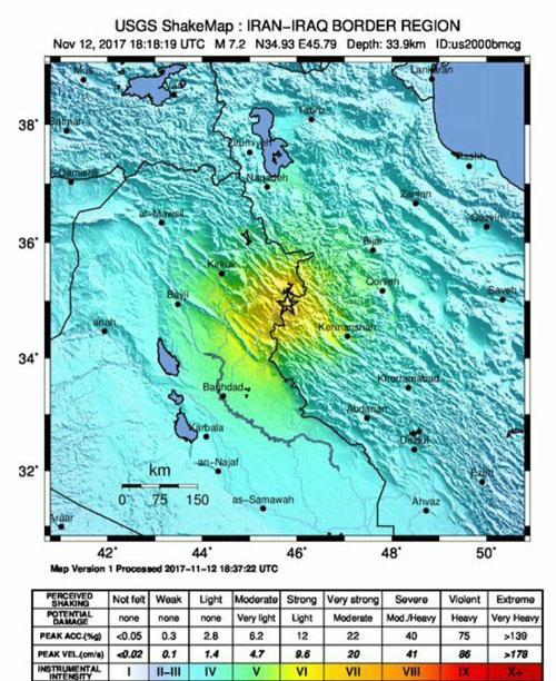 قدرت زمین لرزه اخیر، ۳۰ برابر زلزله بم بود/ عمق ۱۰ کیلومتری، شدت تخریب در پهنه زلزله را افزایش داد