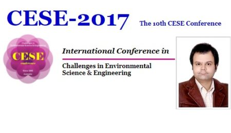 کسب جایزه بهترین مقاله کنفرانس بین المللی چالش های علوم و مهندسی محیط زیست از سوی استاد ایرانی