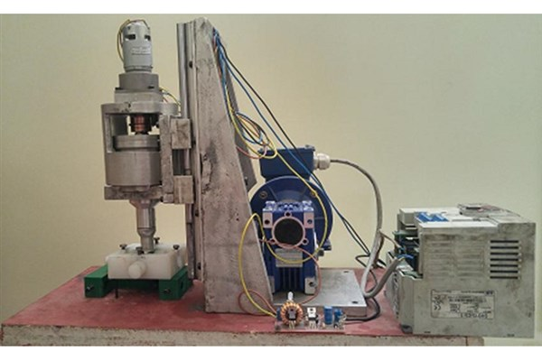 ساخت دستگاه پرداختکاری با ذرات مغناطیسی به کمک ارتعاشات التراسونیک