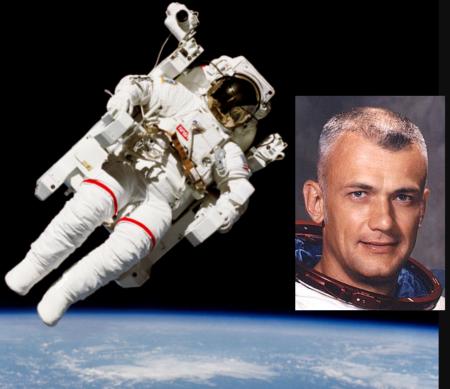 بازخوانی مصاحبه كاپيتان «بوريس مككندلس»، فضانورد فقید ناسا با یک خبرنگار ایرانی