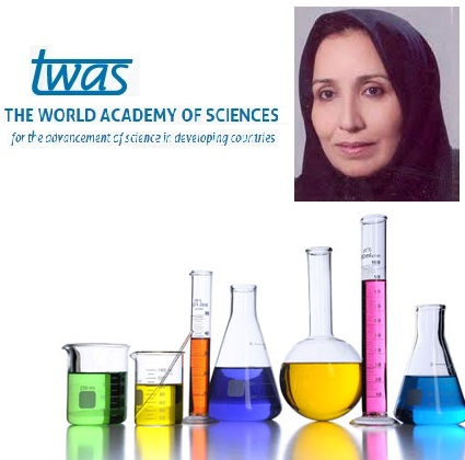 شیمیدان ایرانی، برنده جایزه آكادمي جهانی علوم شد