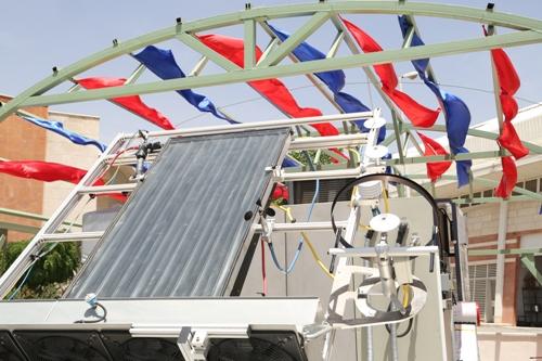 ساخت اولین آزمایشگاه مرجع عملکرد حرارتي کلکتورها و آب گرمکنهای خورشیدی در کشور