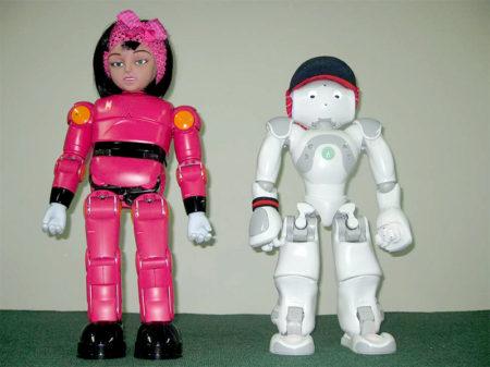 «مینا» و «نیما»، حاصل نخستین رساله دكتري «رباتيك اجتماعي» کشور