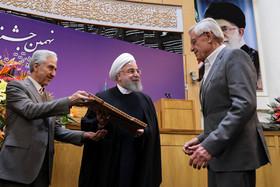 برگزیدگان نهمین جشنواره بین المللی فارابی با حضور رییس جمهوری تجلیل شدند