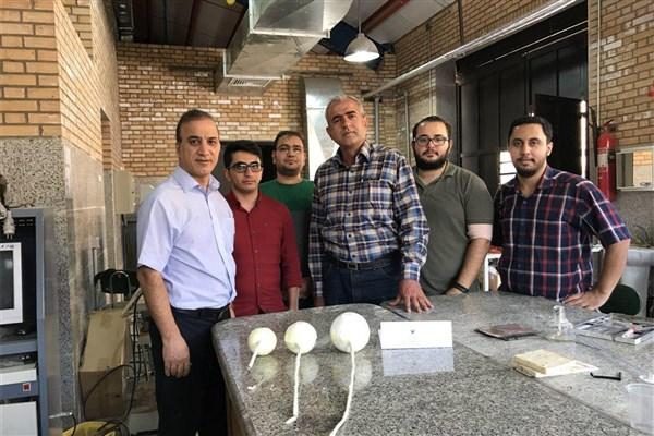 ساخت توپک هوشمند اطفای حریق با قابلیتهای گوناگون در دانشگاه آزاد شیراز