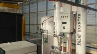 ساخت دستگاههای اکسیژن و نیتروژنساز بیمارستانی و صنعتی در  پارک علم و فناوری آذربایجان شرقی
