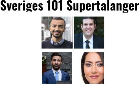 پنج ایرانی در فهرست استعدادهای برتر ۲۰۱۸ سوئد