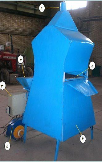 ساخت دستگاه بوجاری بستر شناورساز در کشور