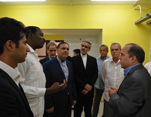 آزمایشگاه فناوری نانو با تجهیزات ایرانی در کوبا افتتاح شد