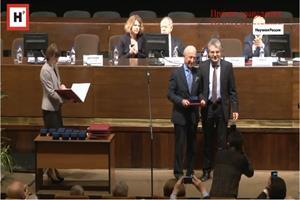 پروفسور سمیعی، برنده مدال «پیروگوف» فرهنگستان علوم روسیه شد