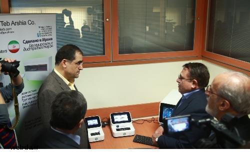 دستگاه پیشرفته آزمایش های خون شناسی ساخت ایران رونمایی شد