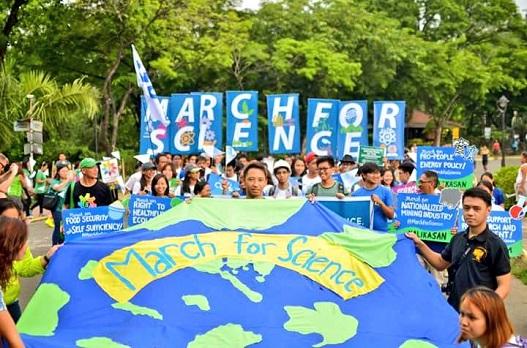 «راهپیمایی برای علم» در چندین شهر جهان برگزار شد + تصاویر