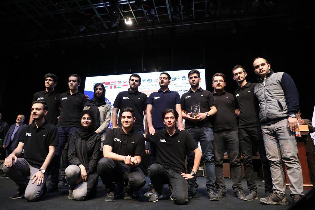 دانشگاه آزاد قزوین، قهرمان مسابقات ربوکاپ آزاد ایران